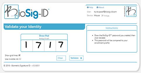 BioSig-ID Example